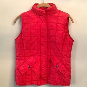 Jones New York Signature Quilted Puffer Vest